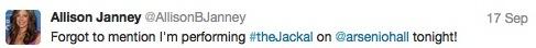 Janney tweet